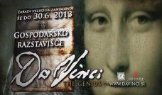 Telop: Da Vinci Exhibition